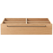 Wooden Bed Oak Underbed Storage S
