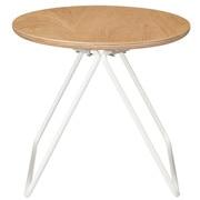 コンパクトサイドテーブル(木製天板)/幅36×奥行35×高さ30.5cm