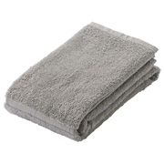 Organic Cotton Naruhodo Soft F/towel Ligeh Gray 34*85cm