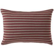 Organic Cotton Jersey Pillow Case 43 Red Border