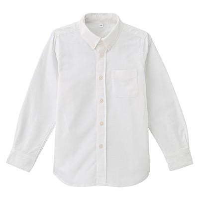 洗いざらしシャツ トドラー130・オフ白