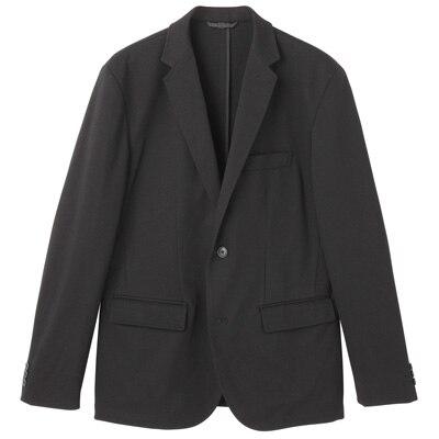 ダブルジャージージャケット 紳士M・黒