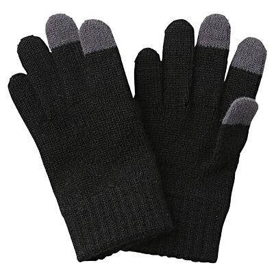 タッチパネル手袋(トドラー) トドラー・黒