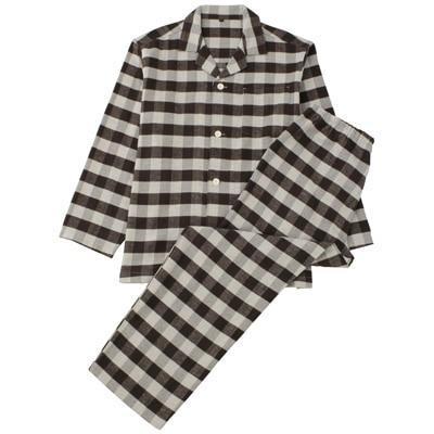 無印良品|脇に縫い目のない二重ガーゼパジャマ