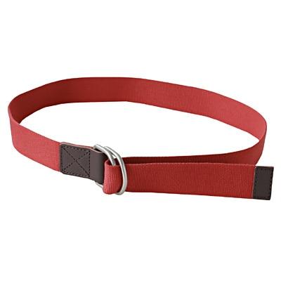 ダブルリングテープベルト 赤