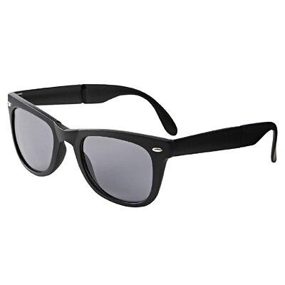 たためるサングラス 黒