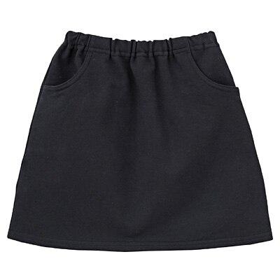 毎日のこども服スカート キッズ110・黒