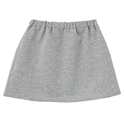 毎日のこども服スカート ベビー80・グレー