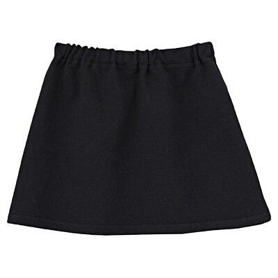 毎日のこども服スカート ベビー80・黒