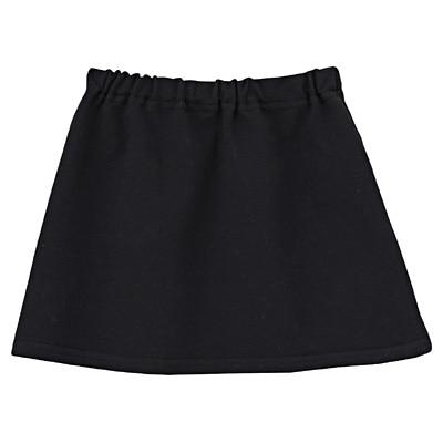 毎日のこども服スカート ベビー90・黒