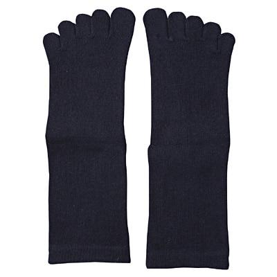 足なり直角5本指くつした(キッズ) 21~23cm・ネイビー