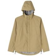 Hooded Blouson: Beige