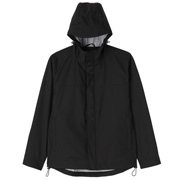 Hooded Blouson: Black