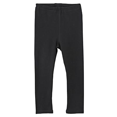 毎日のこども服十分丈レギンス ベビー100・黒