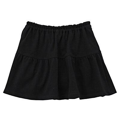 カットソーブルマ付きスカート ベビー90・黒