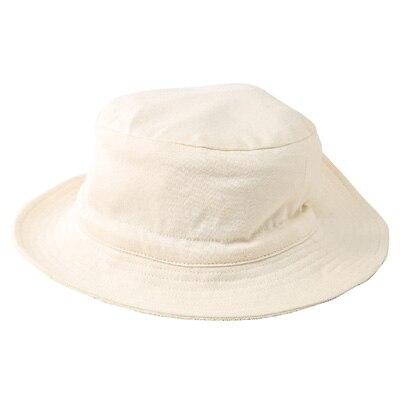 裏パイル帽子 新生児・オフ白