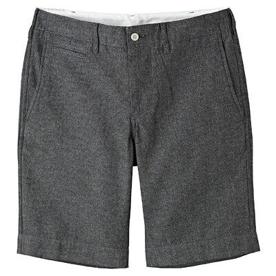 オーガニックコットンデニムショートパンツ 紳士XL・ネイビー