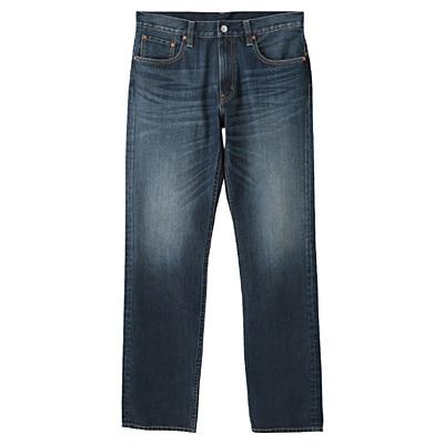 オーガニックコットンデニムレギュラーパンツ 紳士28inch・ブルー