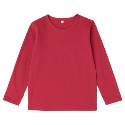 毎日のこども服長袖Tシャツ キッズ120・赤
