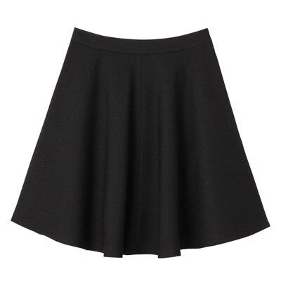 フレアスカート 婦人64・黒