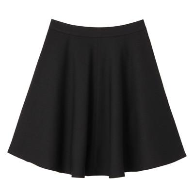 フレアスカート 婦人67・黒