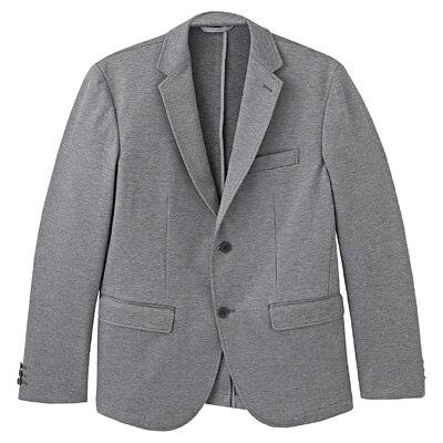 ダブルジャージージャケット 紳士M・グレー