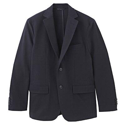 ダブルジャージーツイルジャケット 紳士M・ネイビー