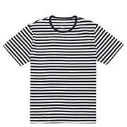 Organic Ct Crew Neck S/s T Shirt(border)