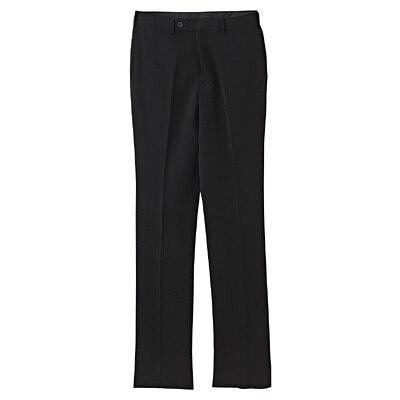 【店舗限定】しわになりにくいウエスト伸縮スリムパンツ 紳士79・黒