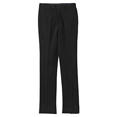 【店舗限定】しわになりにくいウエスト伸縮スリムパンツ 紳士88・黒