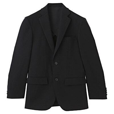 【店舗限定】しわになりにくい二ツ釦ジャケット 紳士L・黒