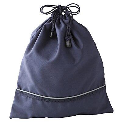 きんちゃく袋 35×30cm・ネイビー