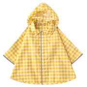 Foldable Poncho Raincoat Yellow Chk Baby 80