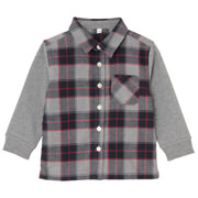 Des For Comfort Flannel Sht Red Chk Baby 80