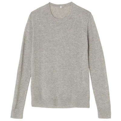 ニュージーランドウール洗えるクルーネックセーター