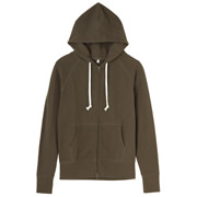 Ogc French Terry Hoody Coffee Brwn S