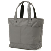 Double Pocket Tote Bag Gray