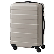 Hard Carry Case(33l) W Stopper & Adjustable Bar Beige