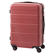 Hard Carry Case(33l) W Stopper & Adjustable Bar Red