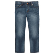 Ogc Stretch Straight Bf Ankle Lgh Jeans Nvy 23 Inch