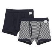 Smooth Boxer Brief  2pcs Packed Navy 110