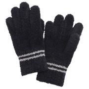 Strech 2 Lines Gloves Navy