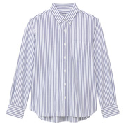 Ogc Oxford Stripe Bttn Dwn Shirt Blue S