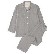 Side Seamless Double Gauze Pajama Gray S