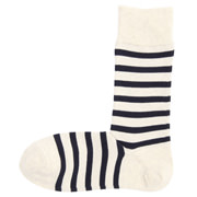 Ogc Mixed Gd Fit Right Angle Border Socks 25-27cm Oatmeal