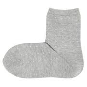 Gd Ft Right Angle Dot Pattern Socks 23-25cm Gray