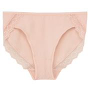 Ogc Mis St Jersey Midi Shorts With Lace Peach S