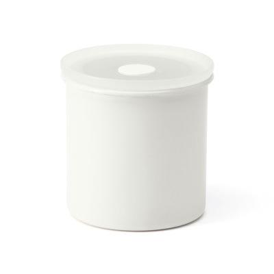 無印良品のバルブ付き密閉ホーロー保存容器