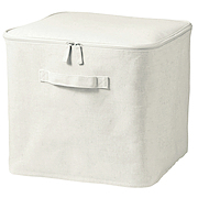 Ct Linen Poly Softbox Sq W/lid L