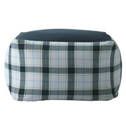 Beads Sofa Cover Ct Twill Gry Plaid